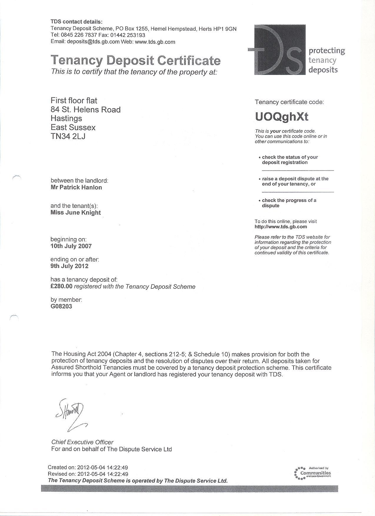 Bad Property Management Sam Hensher Accounts Does Not Register